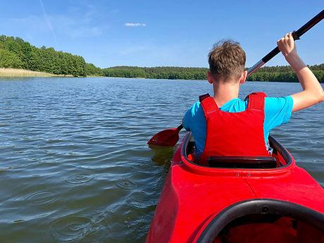 Boy Kayak