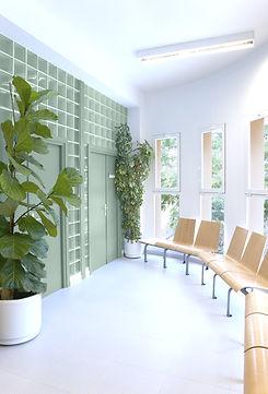 Sala de espera arrumada