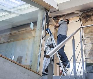 Rénovations en cours
