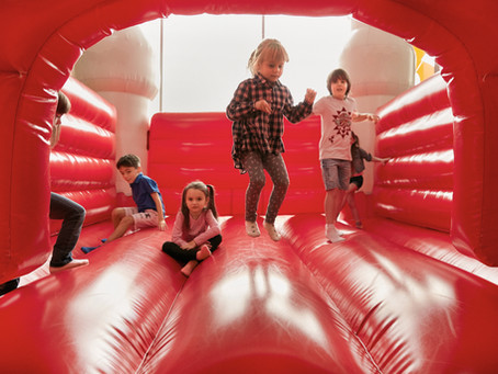 Health Benefits of Renting a Bounce House