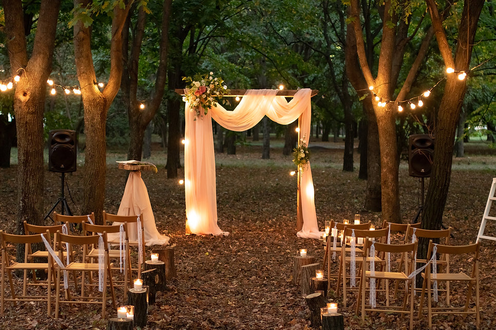 Forest Wedding, Salmo River Ranch Events
