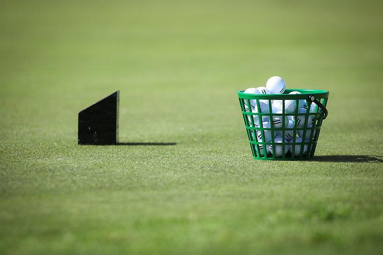 Canasta de pelotas de golf
