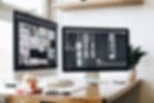 Schreibtisch-Computerbildschirme