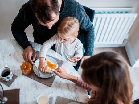 Establishing routines for children