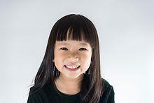 Portrait d'un enfant heureux