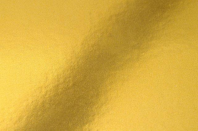 Texture de feuille d'or