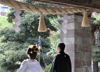 伝統的な日本式婚礼