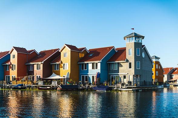 Häuser auf dem Wasser