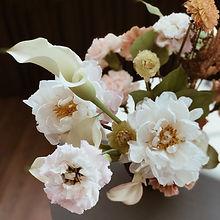 白色主題花束