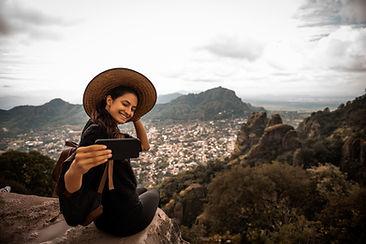 Travel Selfie