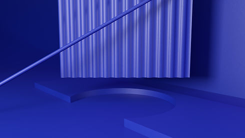 Blue 3D Objects