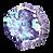 Purple Crystal Rock