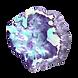 Roche de cristal pourpre