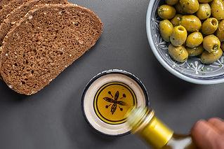 Brød og olivenolie