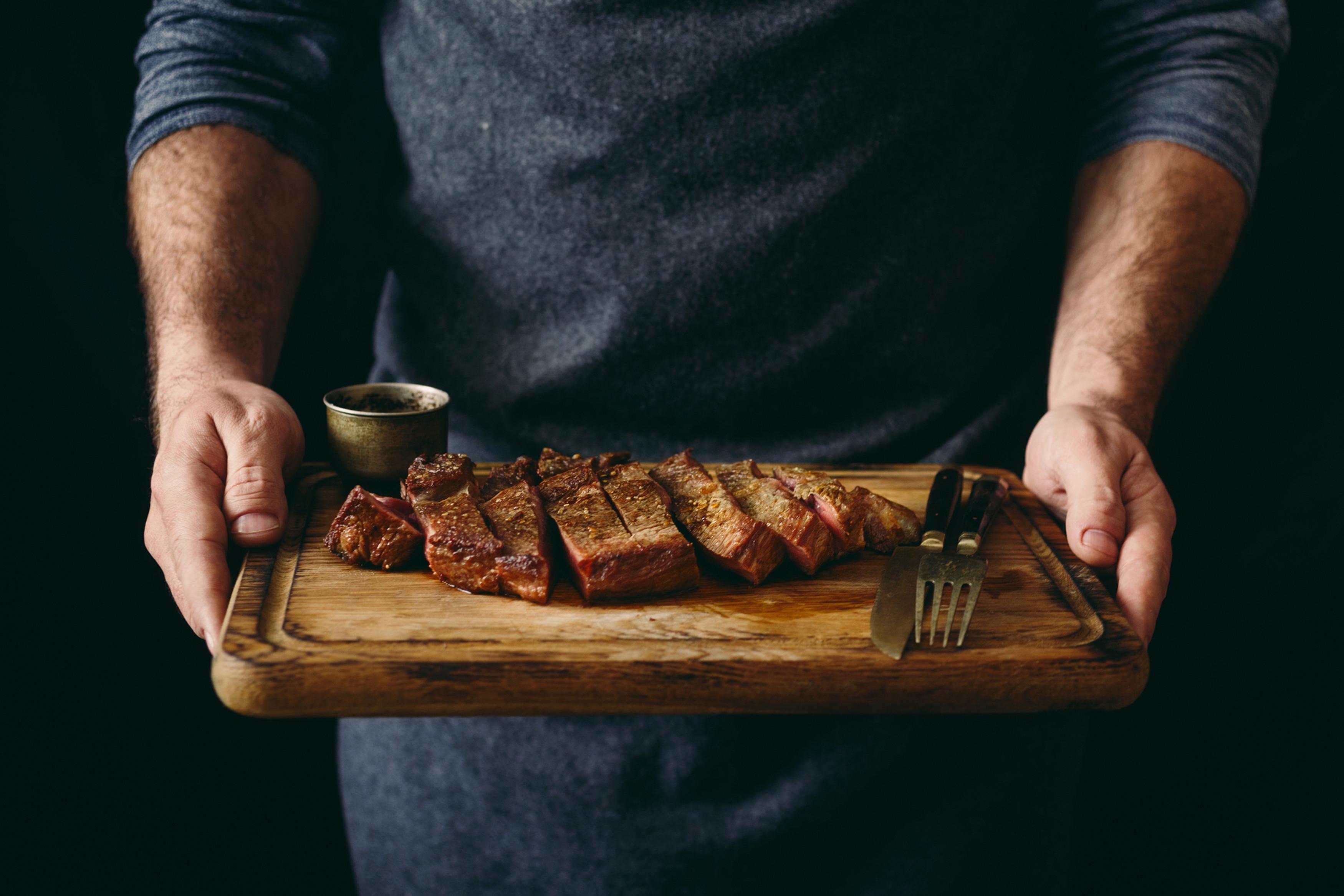 Steak ist mein Gemüse