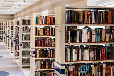Étagères de la bibliothèque