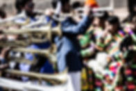 Trumpets at a Street Party