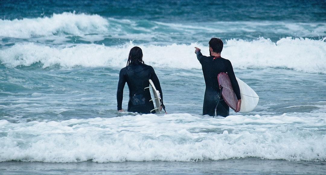 Punto de surf