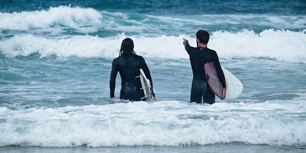 MAY:: Yoga + Surf Half Day Retreat