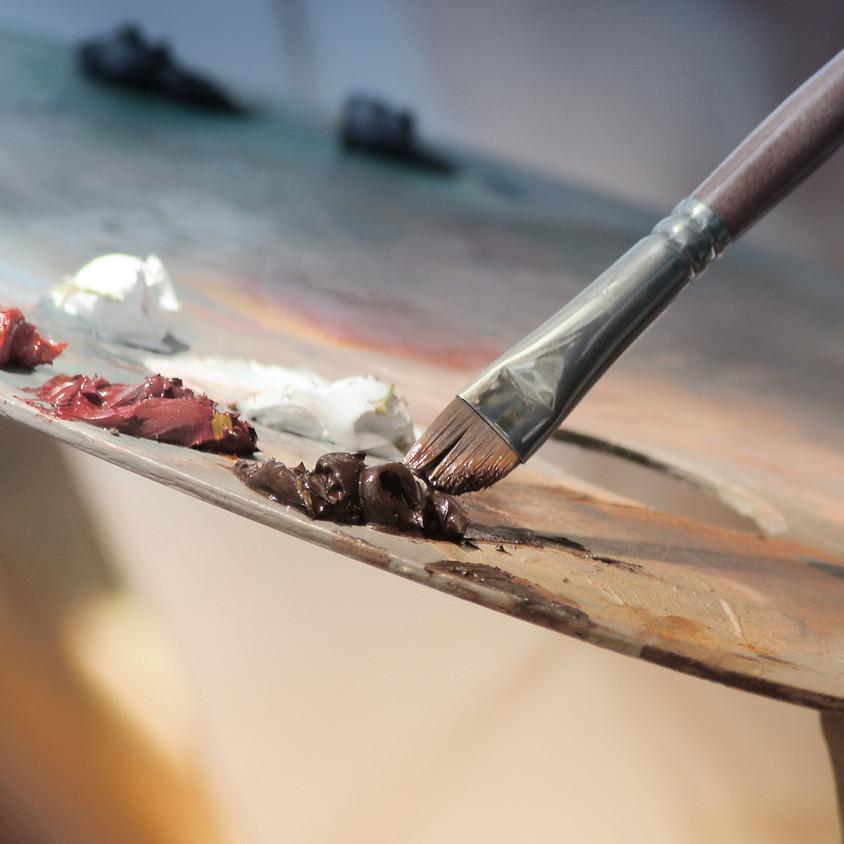 November Art Demo Artist - Suzanne Amendelagine