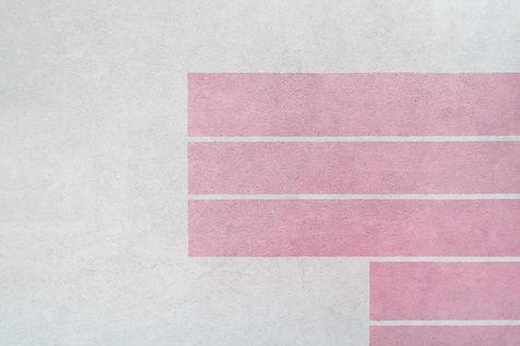 ピンクの平行線