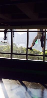 Fensterputzer Aussenfassade