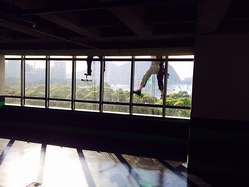 Limpeza de janelas