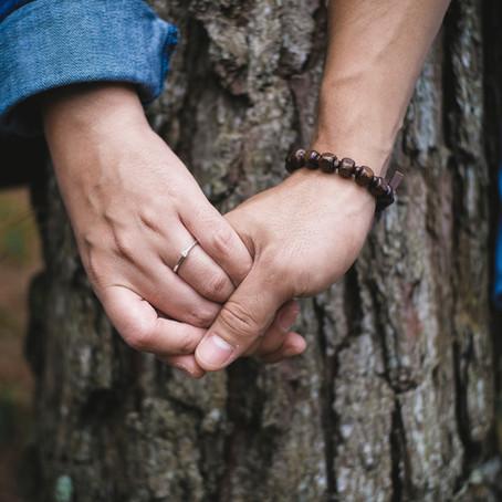 O toque da sua mão