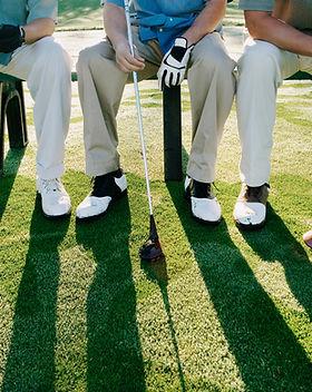 Joueurs de golf