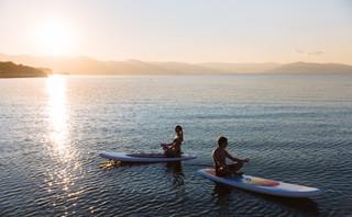 Sunset SUP Couple