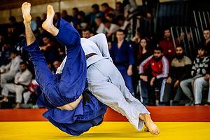 Lancer de judo