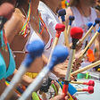 Carnival Band Drummers