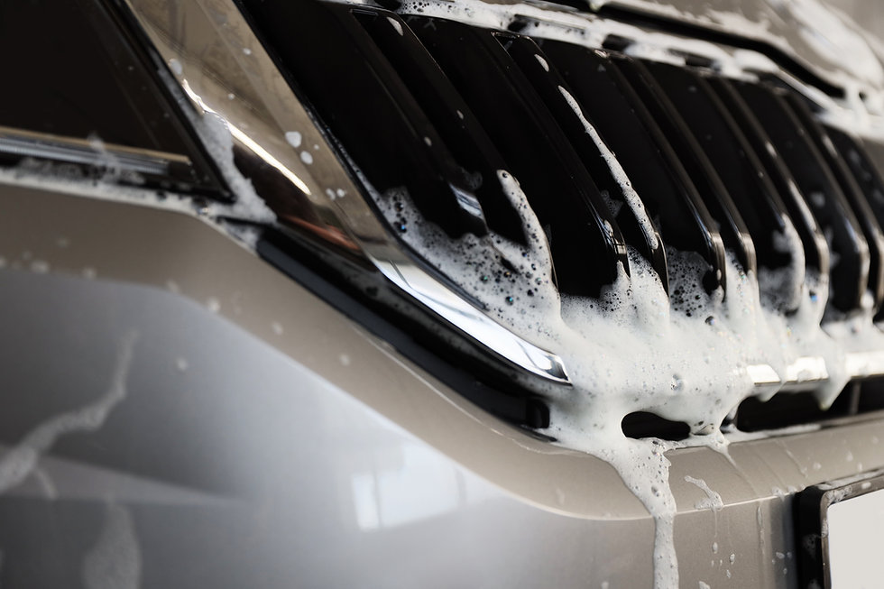Soap on Car