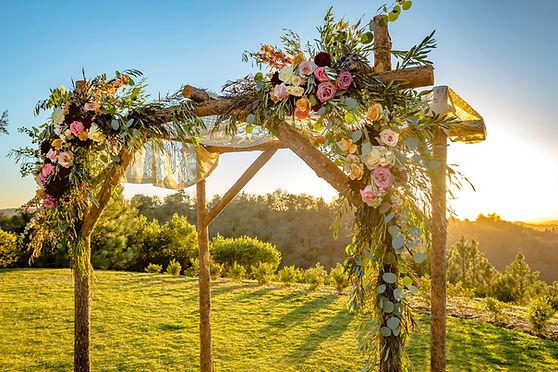 Toldo de boda