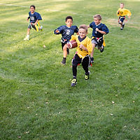 Flag Football-Spiel