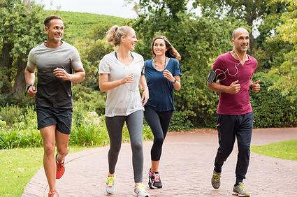 Gruppo di running