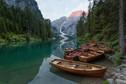 Kano's op een meer