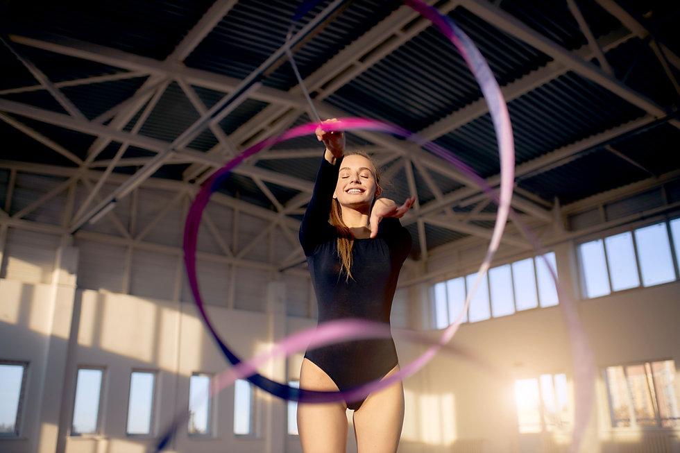 Ribbon Gymnastics