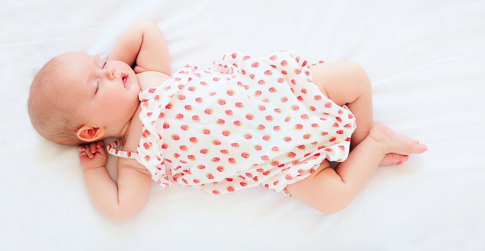 baby gets beauty sleep