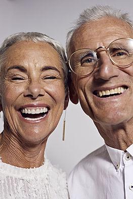 Glückliche ältere Paare,