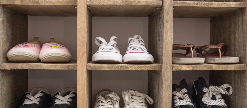 Zapatos en orden
