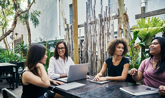 Outdoor Work Meeting