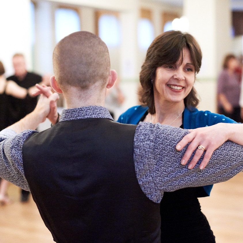 Partner Dance Class with Sharon Porter. Wednesdays at 6:30 in March!