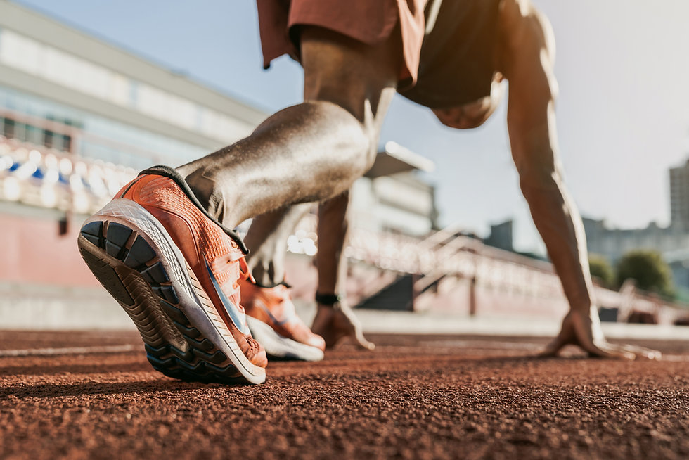 Runner Track and Field