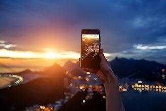 Fotografando RJ com celular