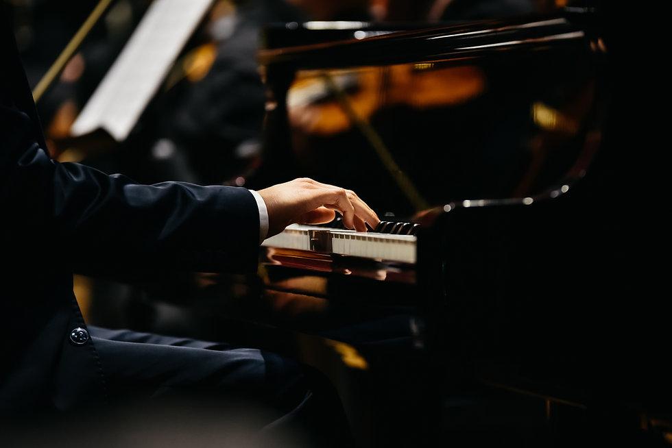 Pianista al piano