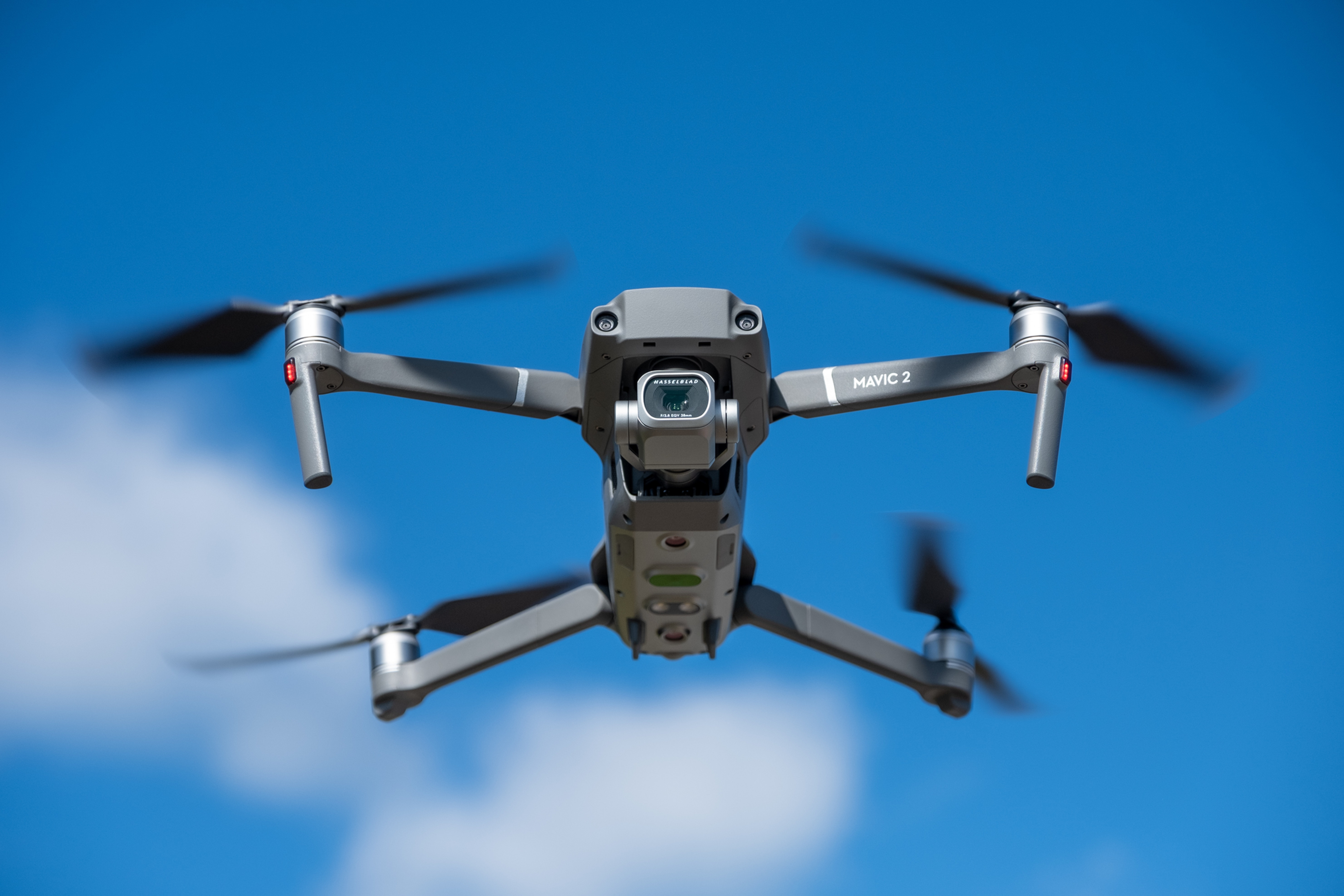 Aerial Drone Coverage