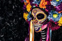 Esqueleto decorado