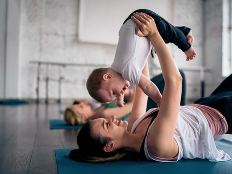 Online Post-natal Pilates classes  (small group)