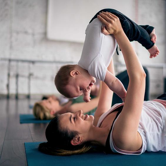 Mommy + Me Yoga (4 weeks-crawling)